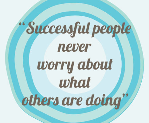 Monday Motivation:  Successful People Don't Mind Others
