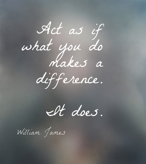 Monday Motivation:  Make a Difference