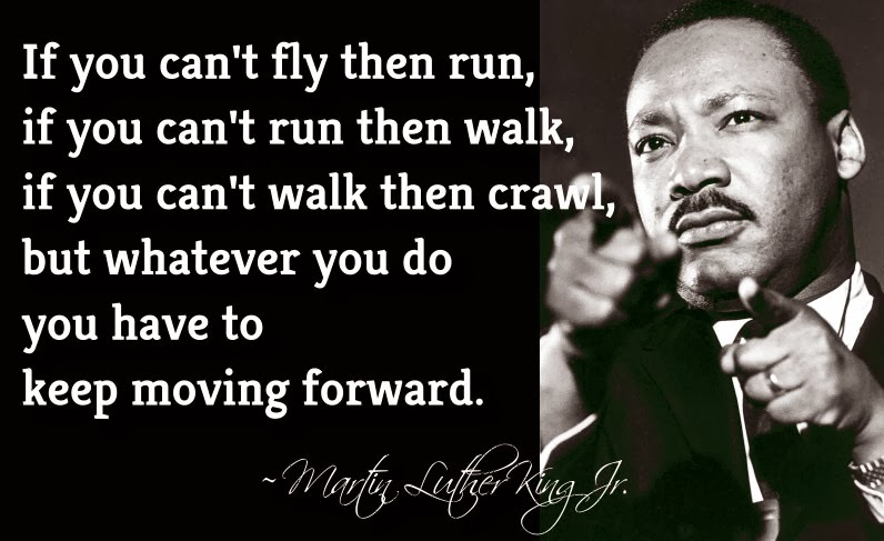 Monday Motivation: Keep Moving Forward